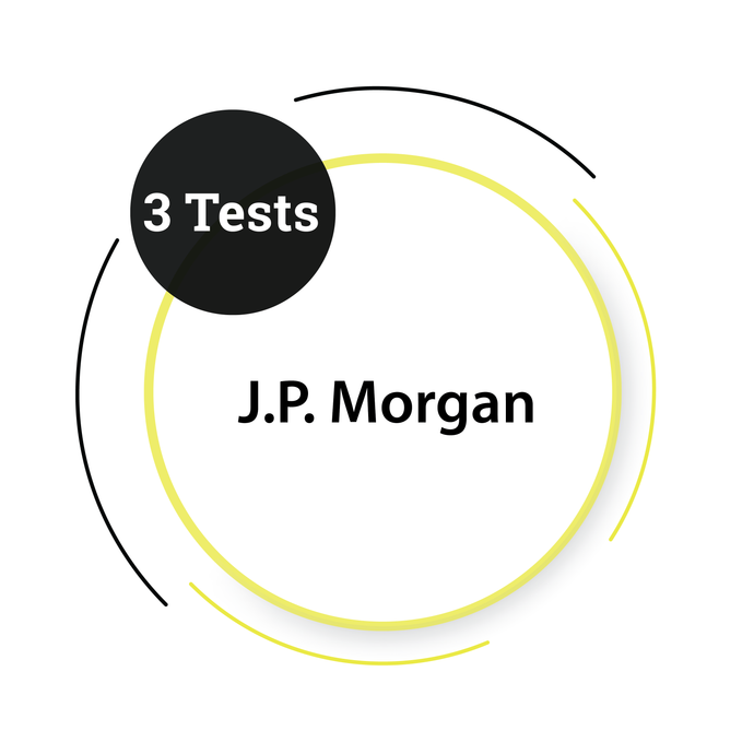 J.P. Morgan - 3 Tests