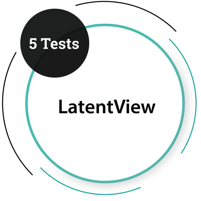 LatentView - 5 tests