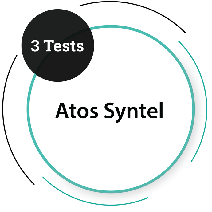 Atos Syntel (3 Tests)