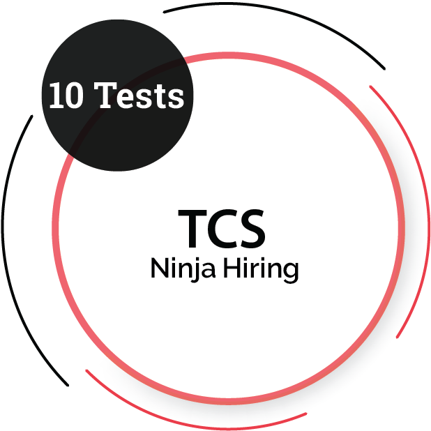 TCS Ninja Hiring – (10 tests)