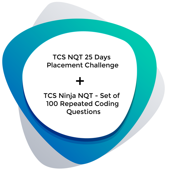 Combo Pack: TCS NQT 25 Days Placement Challenge + Set of 100 Repeated Coding Questions