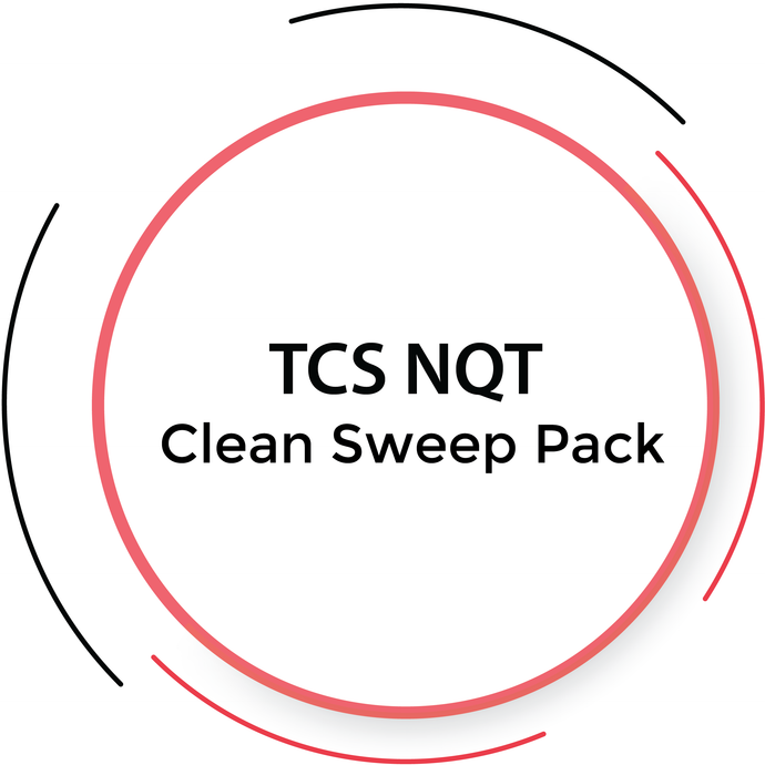 TCS NQT 2020 Clean Sweep - 5 Tests Pack | PlacementSeason