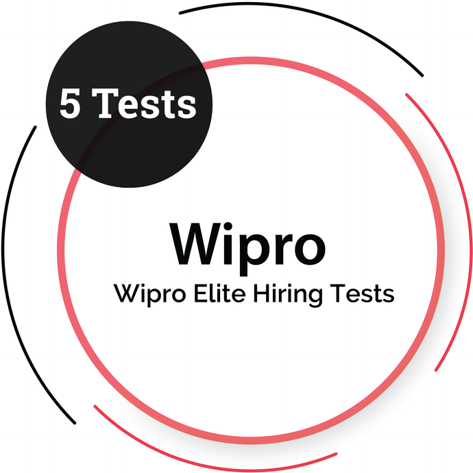 WIPRO ELITE HIRING - 5 Tests
