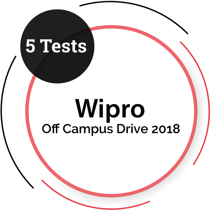 WIPRO OFF CAMPUS DRIVE TESTS - 5 Tests