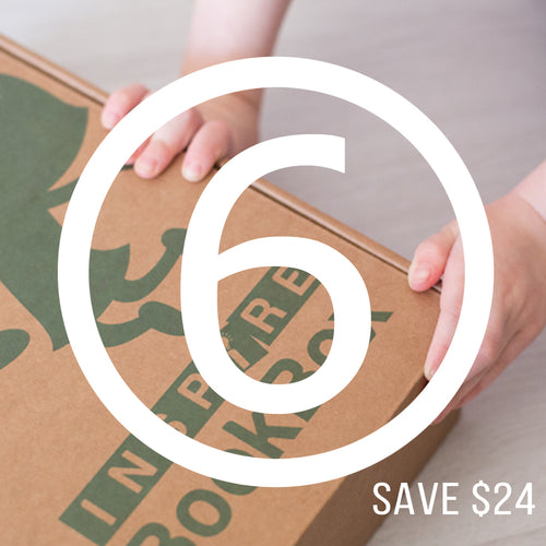 Bigger Hands - 6 Month Subscription - Inspire Book Box