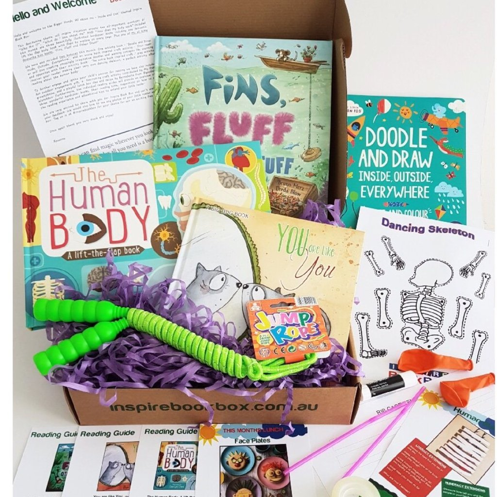 'All About Me' Bigger Hands - Inspire Book Box