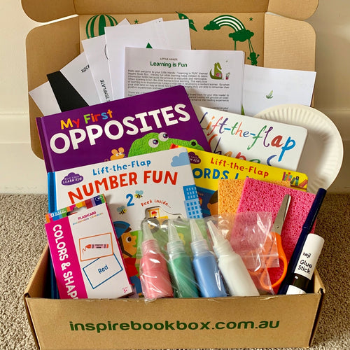 'Learning is FUN!' Little Hands (Gift Box)