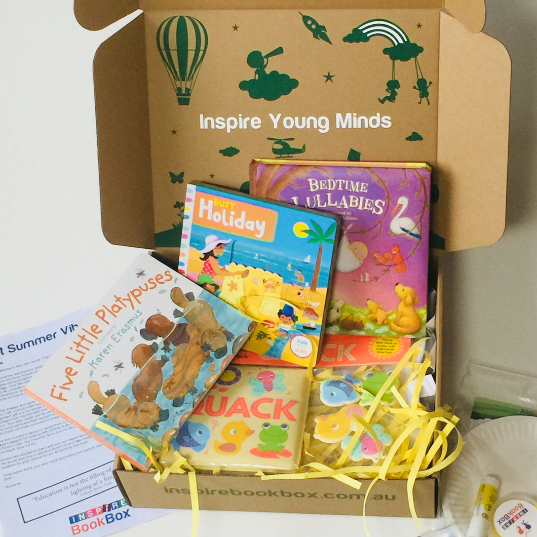'That Summer Vibe' Little Hands - Inspire Book Box