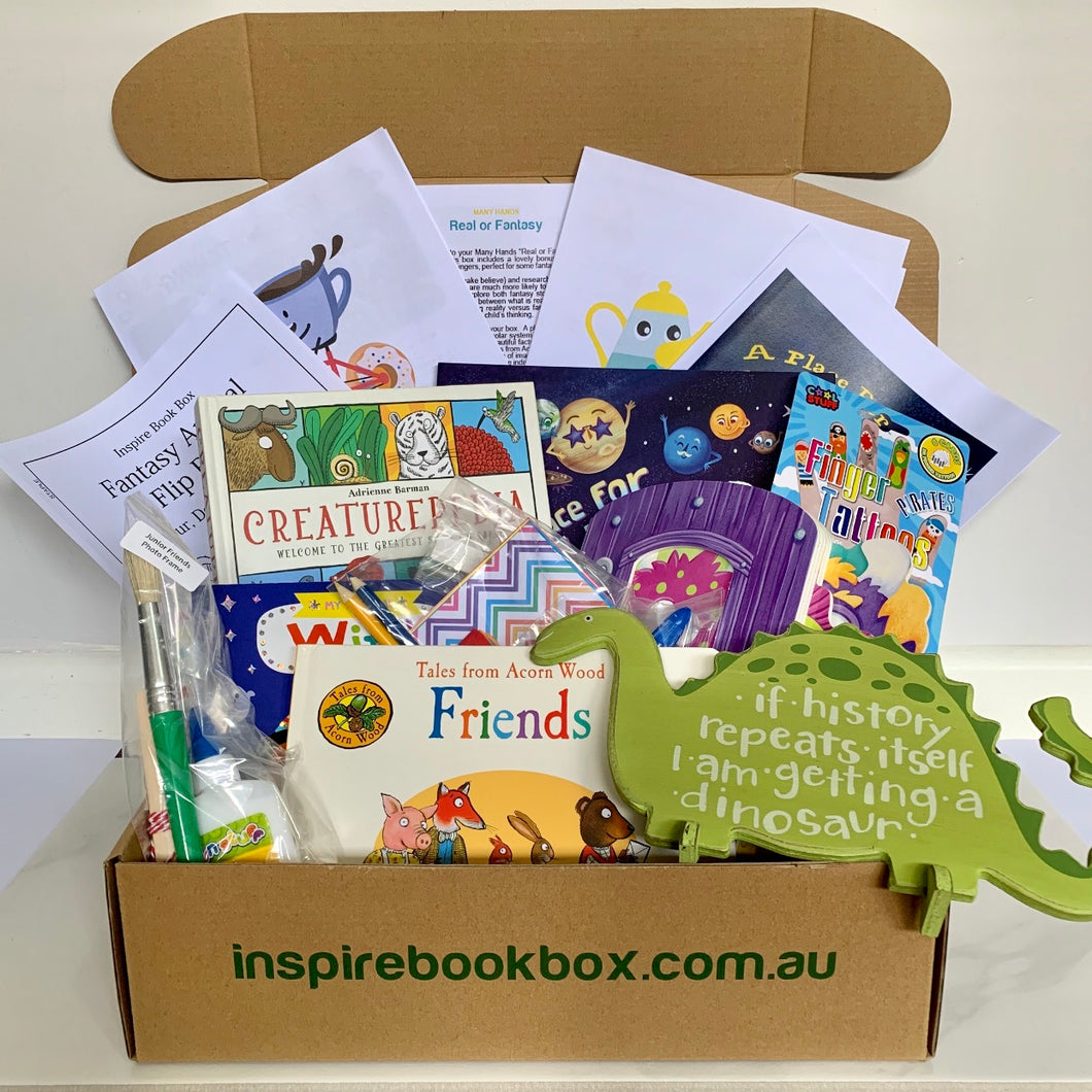 'Real or Fantasy' Many Hands - Inspire Book Box