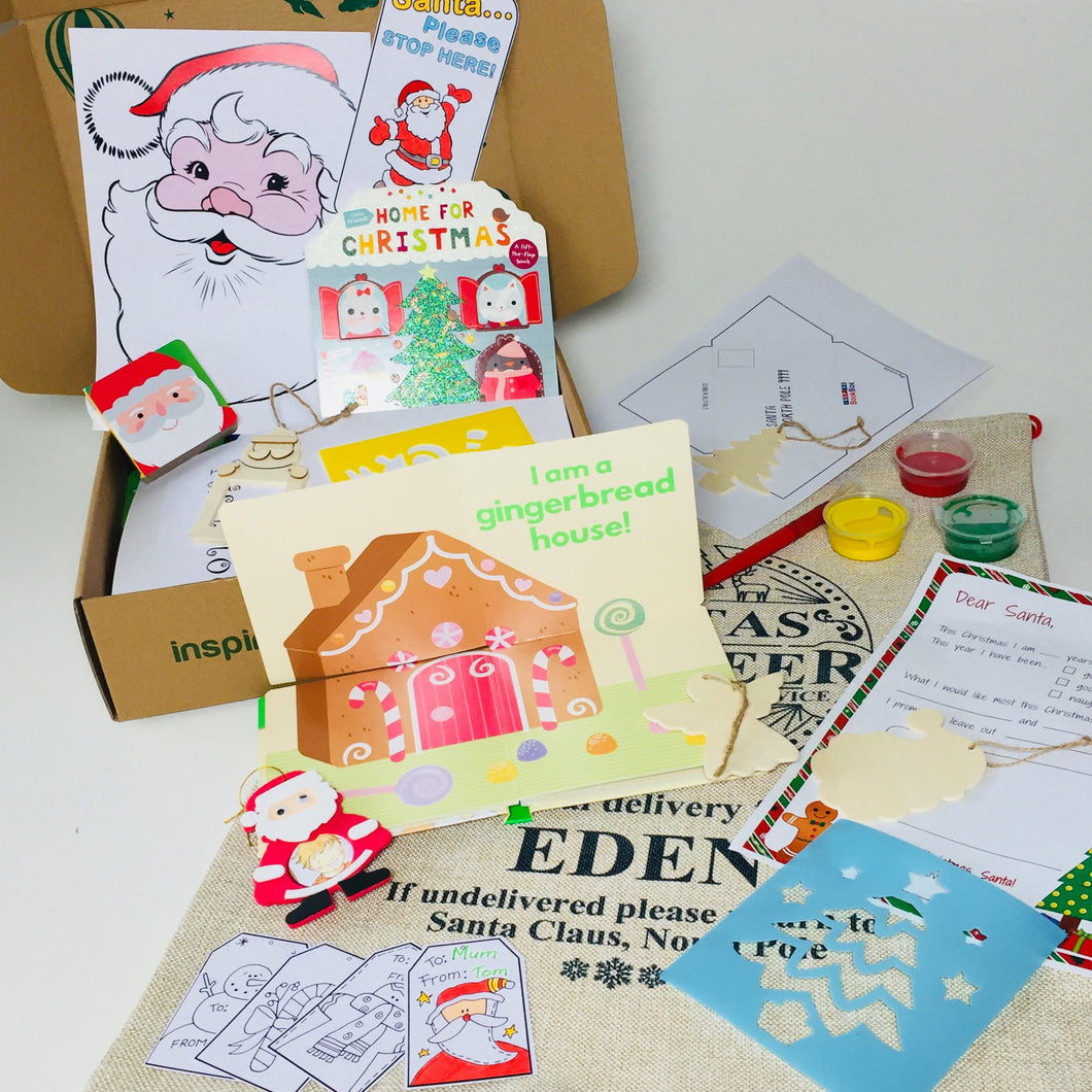 1st December Little Hands Christmas Pack (0+) - Inspire Book Box