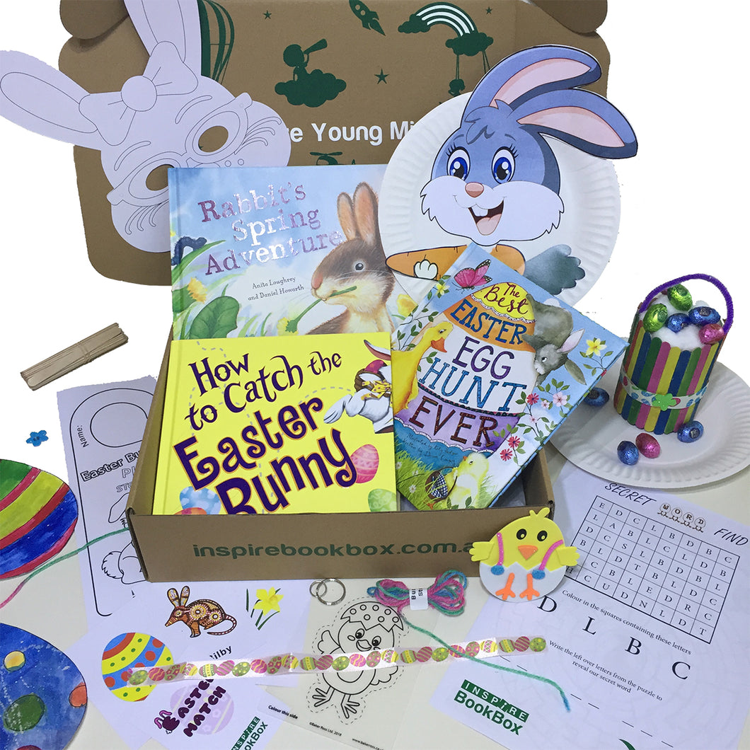 'Easter & Spring time Joy' Bigger Hands - Inspire Book Box