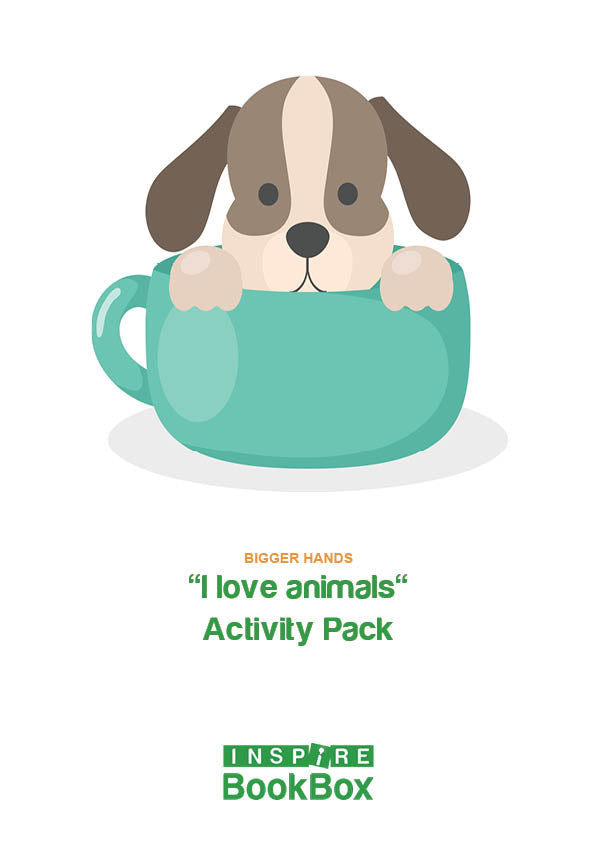 I love Animals Activity Booklet - Bigger Hands