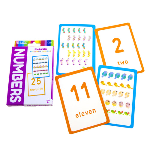 Numbers Flash Card Pack
