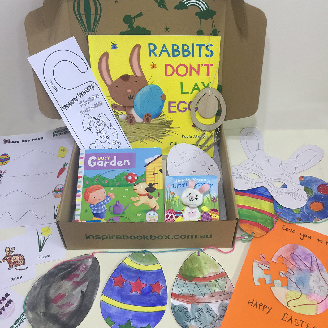 'Easter and Spring time Joy' Little Hands - Inspire Book Box