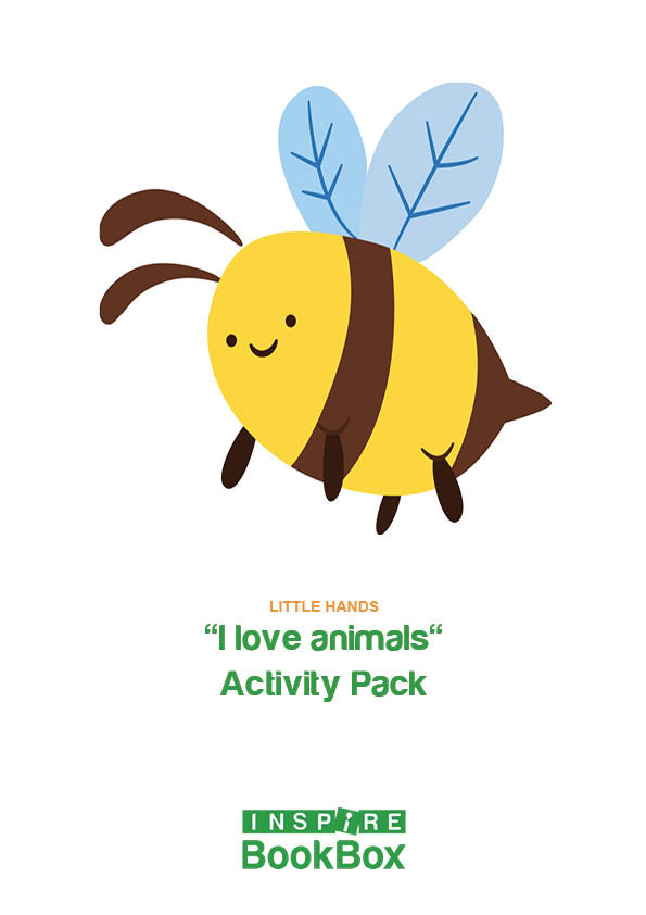 'I love animals' Activity Booklet - Little Hands