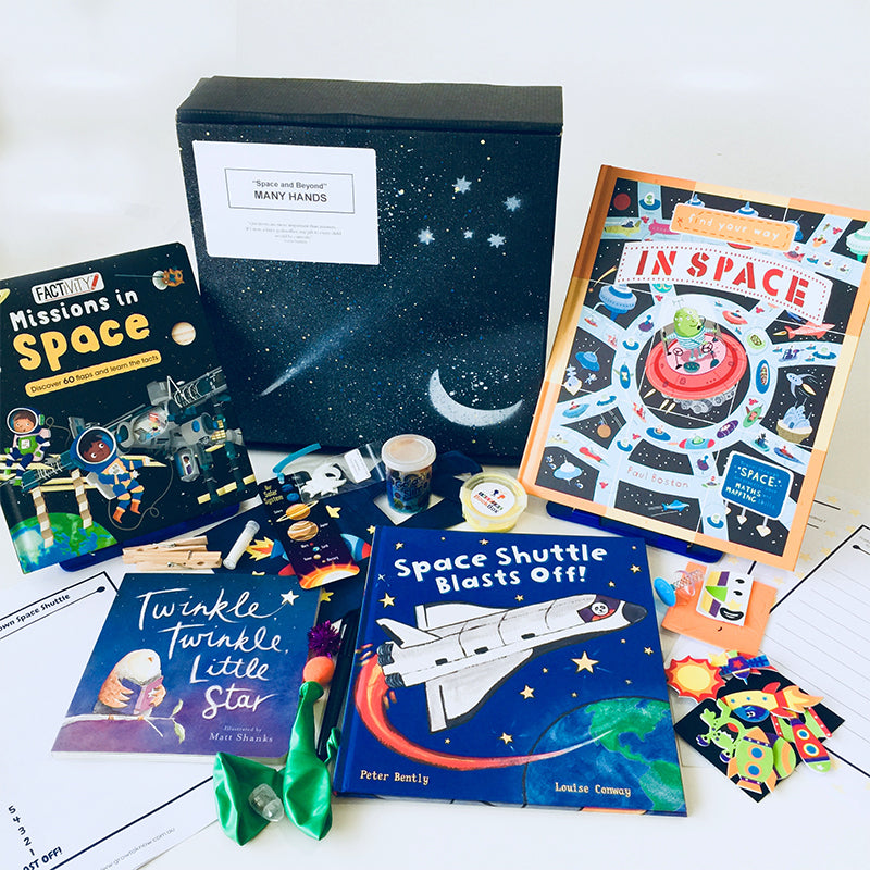 'Space & Beyond' Many Hands - Inspire Book Box