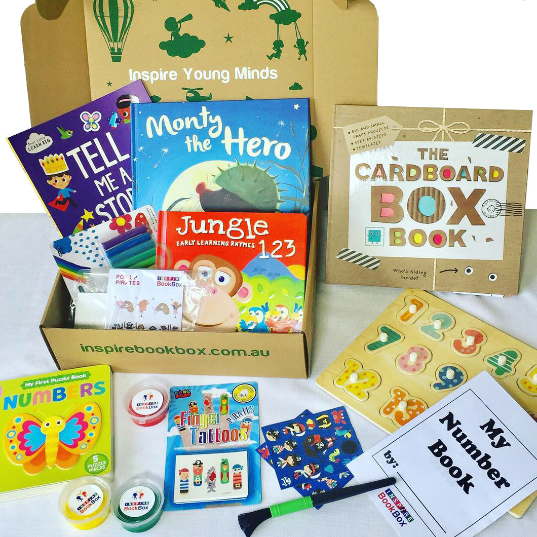 'Imagination / Fun with Numbers' Many Hands - Inspire Book Box