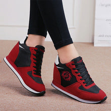Prettymia Mesh Round Toe Lace Up Sneakers