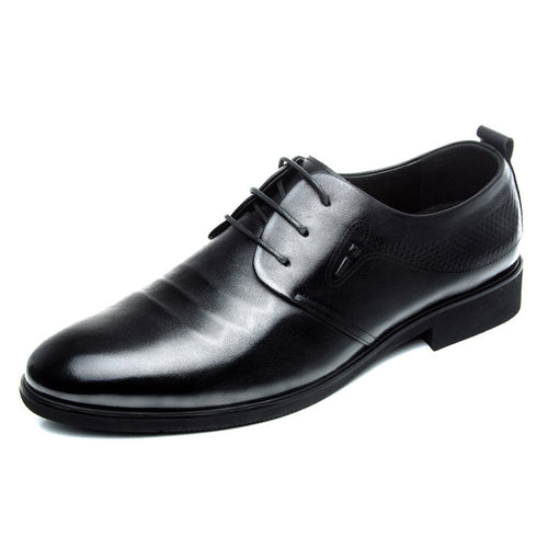Prettymia Round Toe Breathable Deodorizing Men's Oxfords