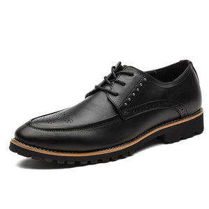Prettymia Bullock Print  Breathable Men's Oxfords