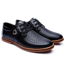 Big Size Genuine Leather Men's Casual Shoes