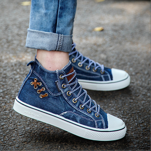 Fashion Women Canvas High Top Shoes