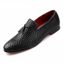 Plus Size Fashion Tassel Design Men's Loafer