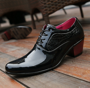 New Breathable Lace-up Men's Oxford Shoes