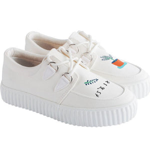 Prettymia Platform Canvas Casual Shoes
