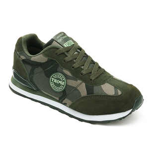 Plus Size Camouflage Outdoor Athletic Men's 'Shoes
