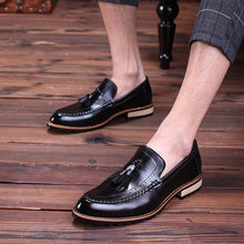 Prettymia Breathable Tassels Hair Stylist Men's Casual Shoes