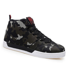 Prettymia Flat Bottom High Waist Camouflage Men's Althletic Shoes