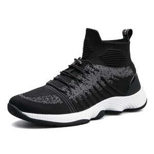 Prettymia Wear Resistant Comfortable Lace Up Men's Sneakers