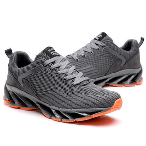 Prettymia Breathable Damping Plain Men's Sneakers