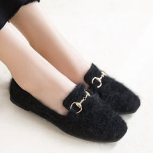 Prettymia Flat Round Toe Slip On Loafers