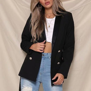 Prettymia Lace Up Plaid Long Sleeve Coat