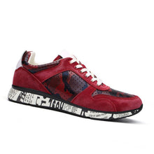 Prettymia Graffiti Patchwork Breathable Men's Sneakers