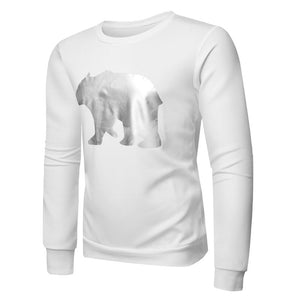 Prettymia Animal Printed Round Neck Pullover Men's Sweatshirts