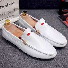 Prettymia Round Toe Slip On Men's Casual Shoes
