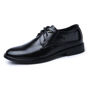 Prettymia Breathable Wear Resistant Antislip Men's Oxfords