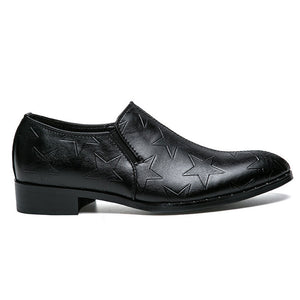 Prettymia Plain Damping Slip On Men's Oxfords