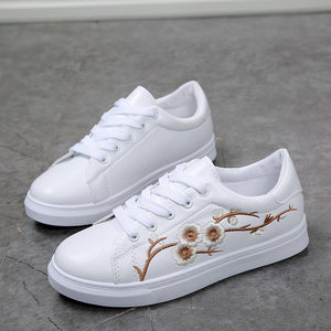 Prettymia Spring Embroidered Casual Shoes