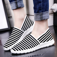 Prettymia Round Toe Breathable Canvas Casual Shoes