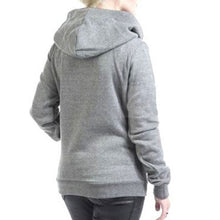 Prettymia Plus Size Patchwork Long Sleeve Hoody