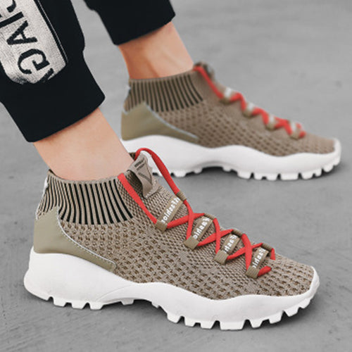 Prettymia New Trend High Quality Breathable Running Shoes
