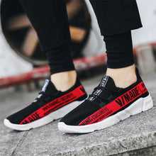 Prettymia Plus Size stripe Breathable Comfortable Men's Sneakers