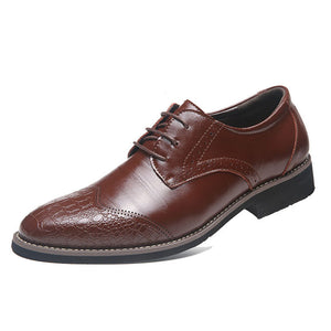 Prettymia Brock Big Code Loaded Business Men's Dress Shoes