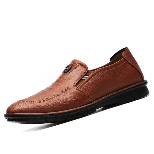 Prettymia British Decorative Flat Bottom Men's Casual Shoes