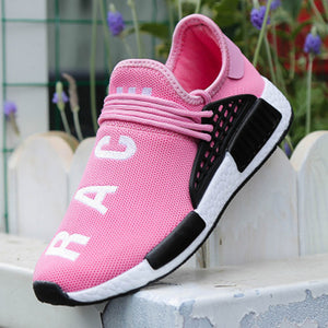 Prettymia Lovers' Big Net Comfortable Running Shoes