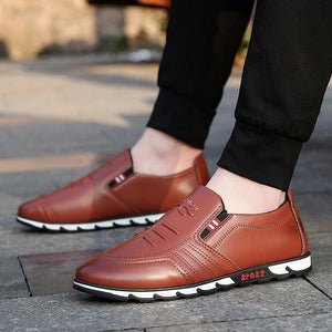 Spring Fall Novelty Nappa Leather Outdoor Casual Shoes
